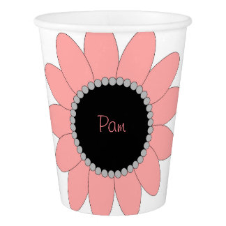 Custom Girl's Paper Cup, 9 oz Paper Cup