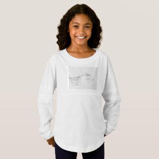Custom Girls' Spirit Jersey Shirt Philippine Eagle
