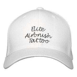 Custom Hat (Black Stitch) Embroidered Baseball Cap