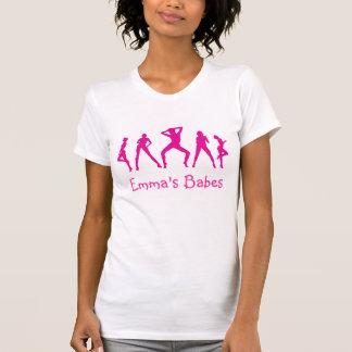 Custom Hen Night T-shirt - Pink Dancers