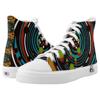 Custom High Top Canvas Shoes For Men/Boys