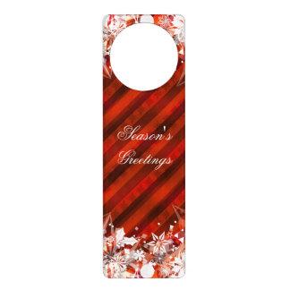 Custom Holiday Season's Greetings Door Hanger