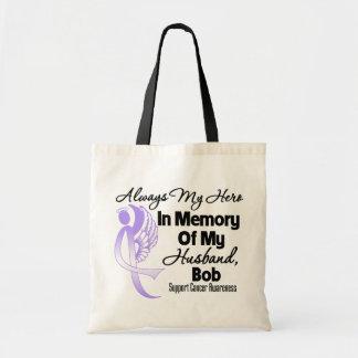 Custom In Memory General Cancer Awareness Bags