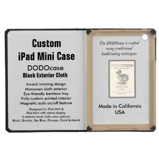 Custom iPad Mini Case - DODOcase Folio - Black