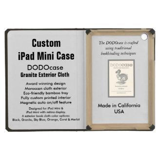 Custom iPad Mini Case - DODOcase Folio - Granite