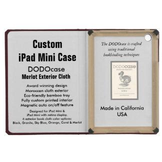 Custom iPad Mini Case - DODOcase Folio - Merlot