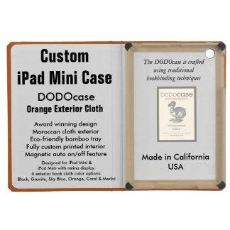 Custom iPad Mini Case - DODOcase Folio - Orange