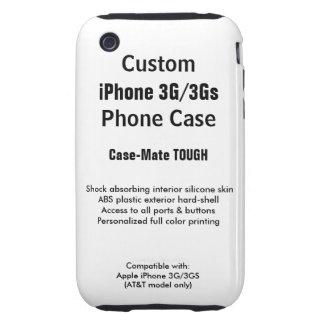 Custom iPhone 3G / 3Gs Tough Phone Case Tough iPhone 3 Cases
