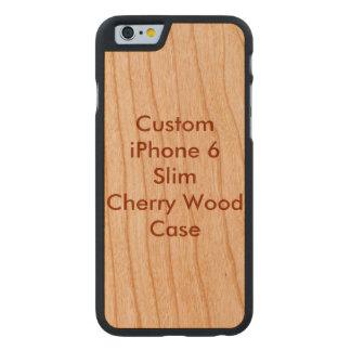 Custom iPhone 6 Slim Cherry Wood Case Carved® Cherry iPhone 6 Slim Case