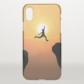 Custom iPhone X Clearly™ Deflector Case