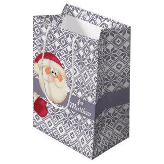 Custom Kid's Name Christmas Gift Bags
