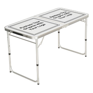 Custom Logo Business Folding Table Pong Table