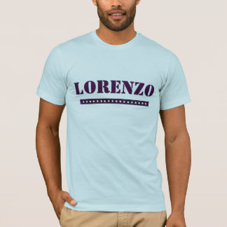 Custom Lorenzo T-Shirt