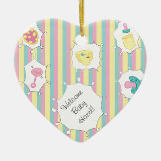 Custom Message Baby Christmas Ornament