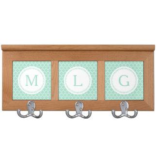 Custom Monogram Coat Rack