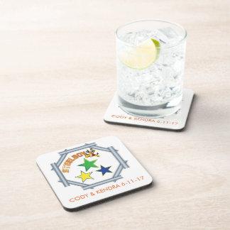 Custom MTFL SteelboyZ coasters. Beverage Coaster