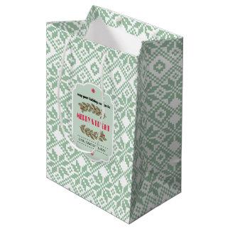 Custom Name Christmas Gift Bags