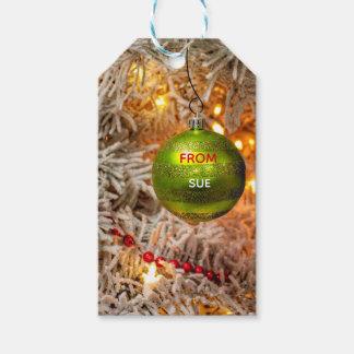 Custom Name Christmas Gift Tags