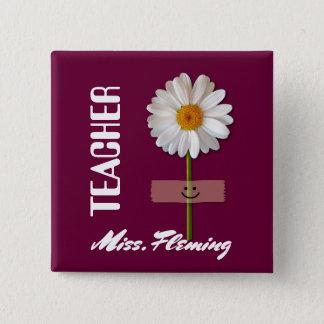 Custom Name Gift Buttons for Teachers