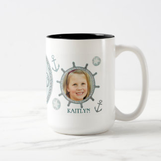 Custom Nautical Best Dad Ever Father s Day Mug