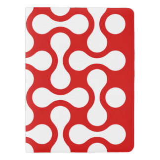 CUSTOM NOTEBOOK Refillable REDWHITE Graphic Art