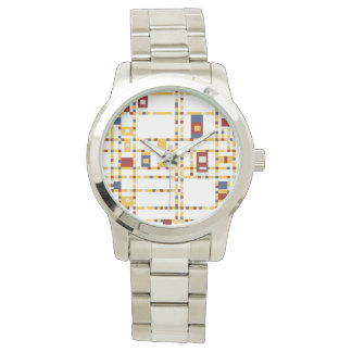 Custom Oversized Silver Bracelet Watch