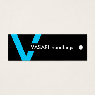 Custom -  PACKAGING & HANG TAGS Mini Business Card