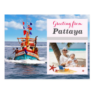 Custom Pattaya - Thailand Postcard