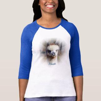 Custom Personalised Alpaca T-Shirt