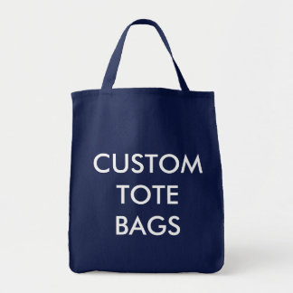 Custom Personalized Grocery Tote Blank Template