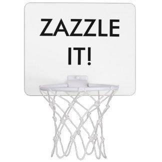 Custom Personalized Mini Basketball Hoop Blank