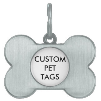 Custom Personalized Pet Dog Tag Blank Template
