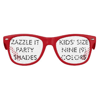 Custom Personalized Retro Party Shades Blank