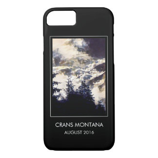 Custom Photo Basic Black Holiday Memory iPhone 7 Case
