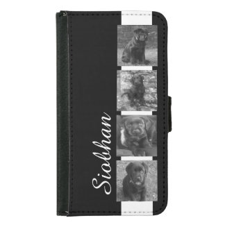 Custom Photo Collage Customizable Samsung Galaxy S5 Wallet Case