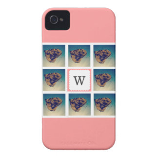 Custom Photo Collage Monogram Phone Case