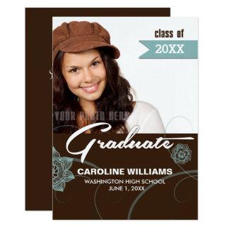 Custom Photo Graduation Party Invitations