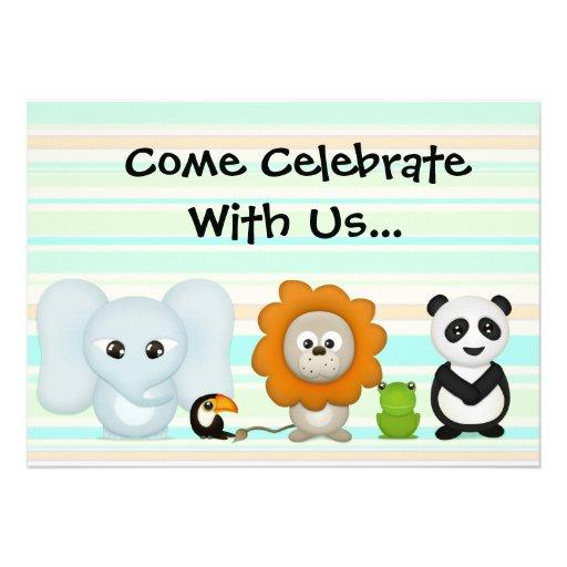 Custom Photo Invitation, First Birthday or Shower
