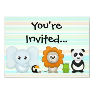 "Custom Photo Invitation, Front/Back Baby Kids... 5"" X 7"" Invitation Card"