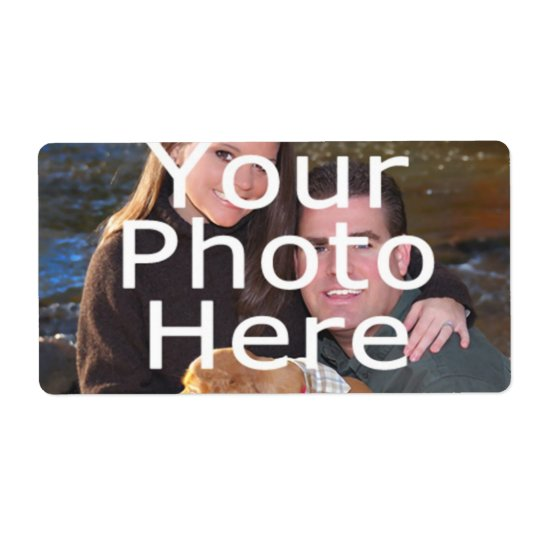 Custom Photo Labels