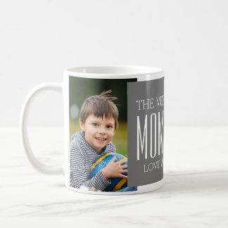 Custom Photo Mother's Day Mug Grey