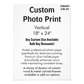 "Custom Photo Print - Vertical 18"" x 24"""