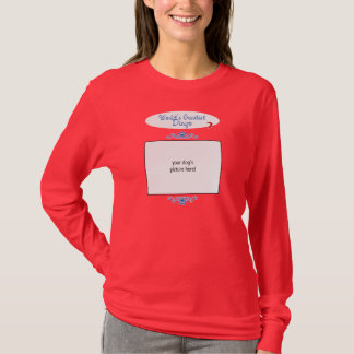 Custom Photo! Worlds Greatest Dingo T-Shirt
