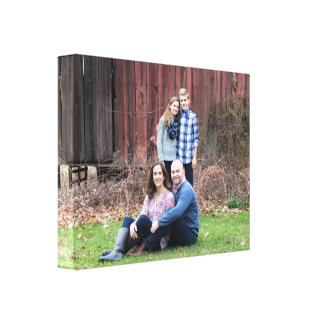 Custom photo wrapped canvas - makes a great gift!