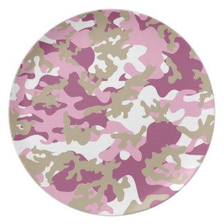 Custom Pink Camo Plate