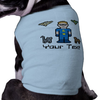 Custom Pixel Animal Superhero Shirt