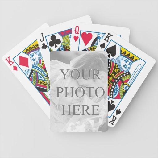 Custom Playing Cards Personalised : Zazzle