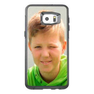Custom portrait size photo children add photo OtterBox samsung galaxy s6 edge plus case