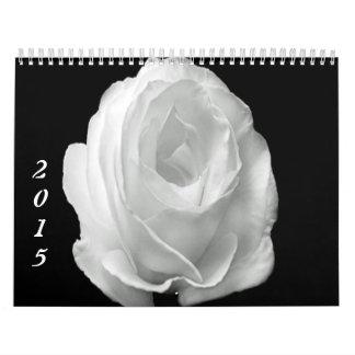 Custom Printed Calendar 2015 Roses