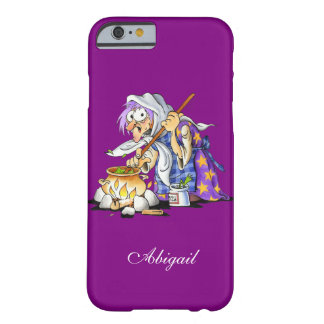 Custom Purple iPhone 6 Cases With Purple Witch